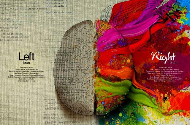 right left brain graphic